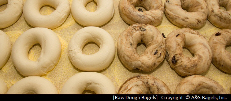 A&S Bagels, Raw Dough Bagels