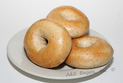 Whole Wheat Bagel from A&S Bagels